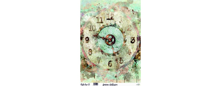 RUSTIC TIME  A4
